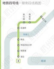 南下浦沿!杭州地铁4号线
