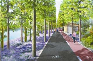 下沙将建成杭城首条环区
