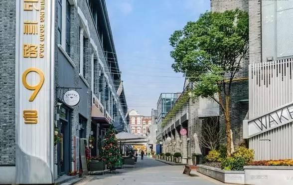 杭州颜值最高的商业街!
