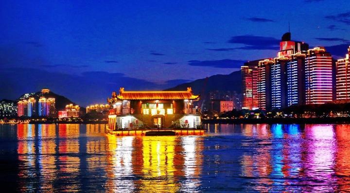 杭州水上夜游新航线登场